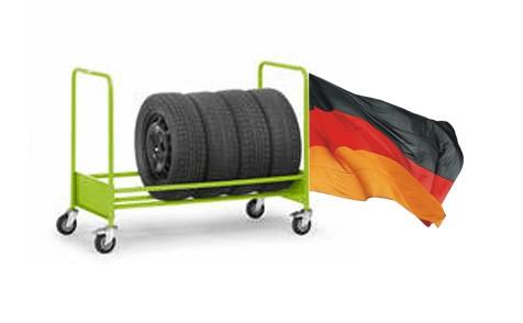 Reifenwagen Goliat 2 - einfach