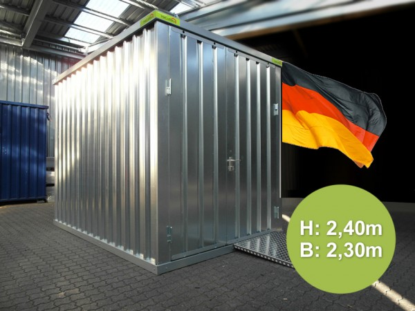 Lagercontainer Höhe 2,40m