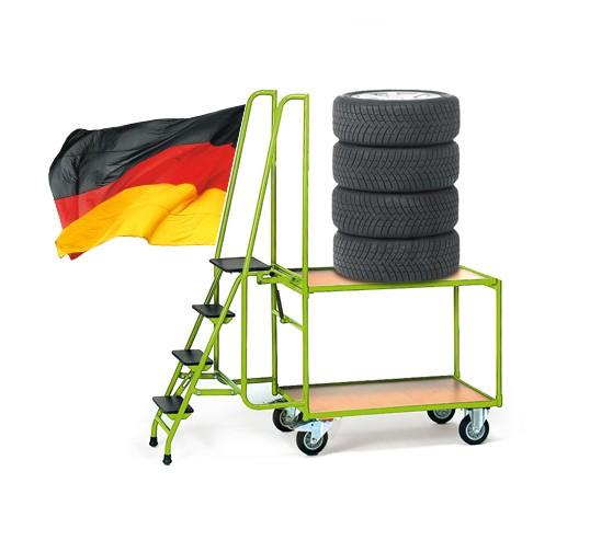 Reifenwagen Goliat 1 - 2 Ebenen