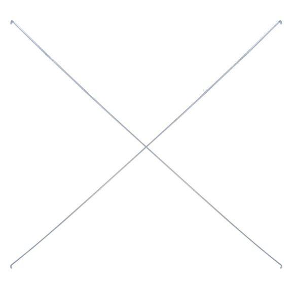 Kreuzstreben-Set für Kragarmregale KR 1000