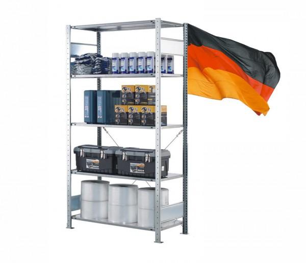 Lagerregal / Fachbodenregal, Grundregal, einseitig Nutzbar, Stecksystem