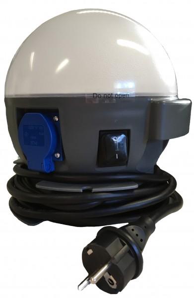 Elektro-Paket Light-Ball 230V inkl. 2 Steckdosen per Magnet zu befestigen