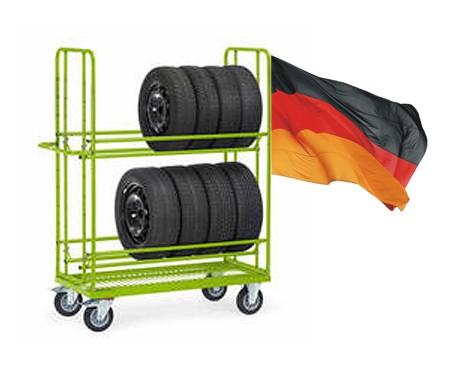 Reifenwagen Goliat 2 - starke Ausführung